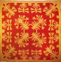 Hawaiian quilt, c. 1900